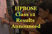 HP Board Class 12 2016 results announced
