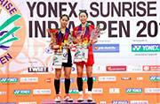 Kento Momota, Ratchanok Intanon win India Open titles
