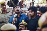 Police arrest 2 after threat letter for Kanhaiya, Umar recovered in DTC bus