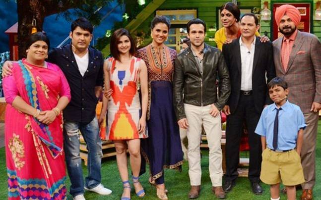 A still from The Kapil Sharma Show Picture courtesy: Twitter/The Kapil Sharma Show