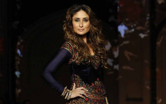 Kareena Kapoor Khan at the grand finale of the Lakme Fashion Week on April 3. Photo: Yogen Shah