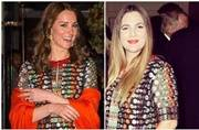 Same pinch! Kate Middleton, Drew Barrymore don same gown on same day