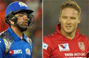 IPL 2016: Kings XI Punjab host Mumbai Indians in battle of strugglers