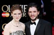 GoT stars Kit Harington and Rose Leslie debut as a couple at Olivier Awards