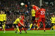 Europa League: Liverpool stun Borussia Dortmund to reach semis, Sevila edge through