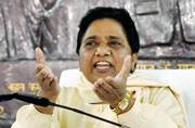 Mayawati sounds poll bugle, attacks Modi and 'government of goons' in UP