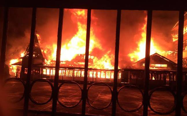 Shillong: Massive fire burns down 57-year-old school
