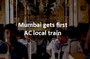 First ever AC local train hits Mumbai: Amazing facts on Mumbai local trains in pictures