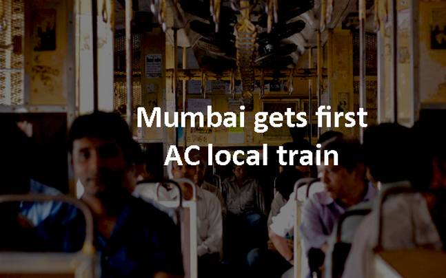 First ever AC local train