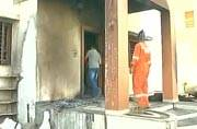Patel protesters torch Gujarat Home Minister's house in Mehsana