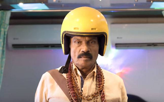 Goundamani in a still from the film