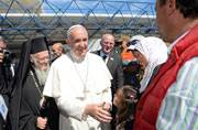 Pope Francis teaches a lesson to Europe, brings 12 Syrian refugees to Italy