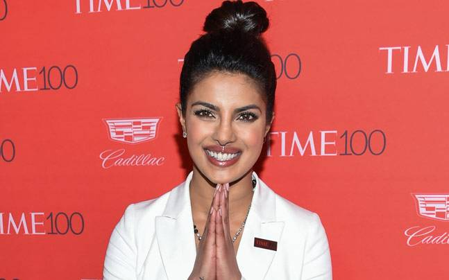 Priyanka Chopra at the Time 100 gala. Photo: AP