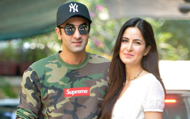 Ranbir Kapoor and Katrina Kaif on Christmas 2015