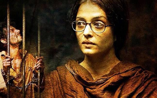 Aishwarya Rai Bachchan and Randeep Hooda in a still from Sarbjit