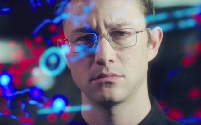 Joseph Gordon-Levitt in a still from Snowden