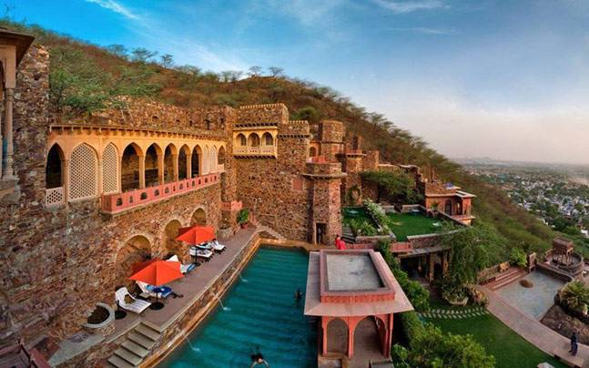 Neemrana Fort-Pace, Rajasthan. Picture courtesy: Facebook/Neemrana Hotels