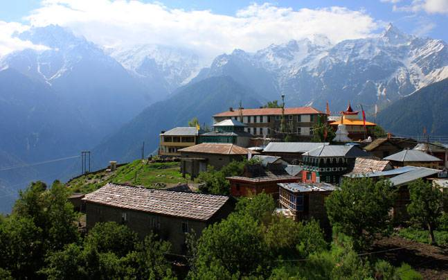 The beautiful village of Kalpa. Picture courtesy: Flickr/Nick Irvine-Fortescue/Creative Commons