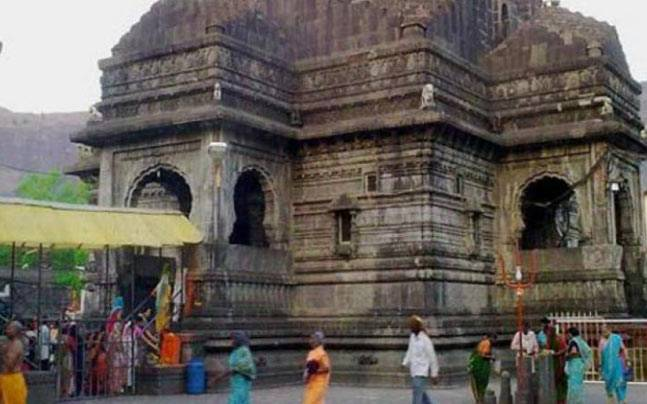 Trimbakeshwar Temple in Nashik. Photo: PTI