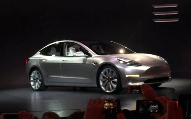 Tesla Unveils Electric Car Model 3 To Make It Available In India