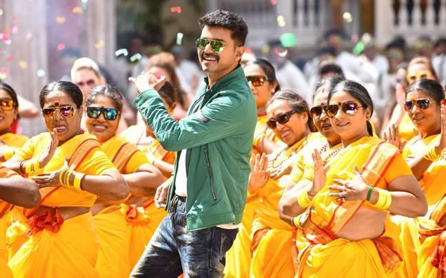 A still from Vijay's Theri