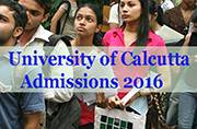 University of Calcutta Admissions 2016: Check out application process