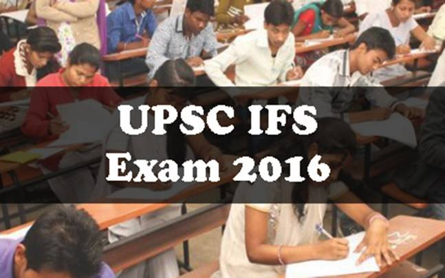 UPSC IFS Examination 2016