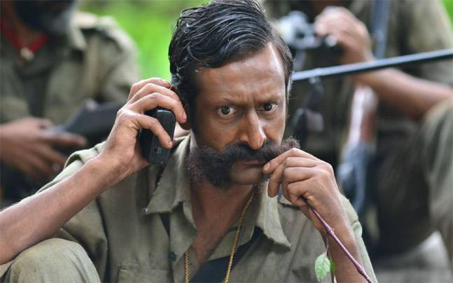 A still from Veerappan
