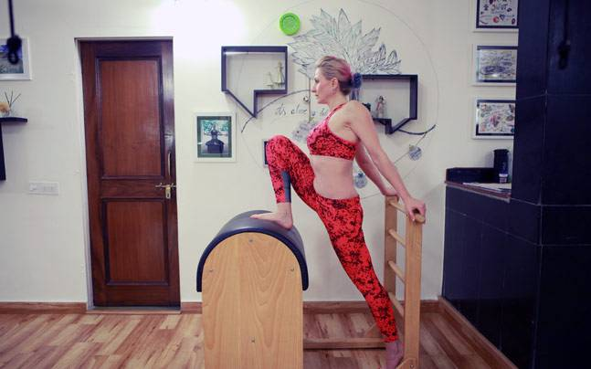The Ladder-barrel is one piece of equipment which could make you do a stretch in the nicest way possible.