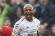 Andre Ayew double helps Swansea City beat Liverpool