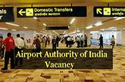 Looking for Manager job? Apply now at Airport Authority of India