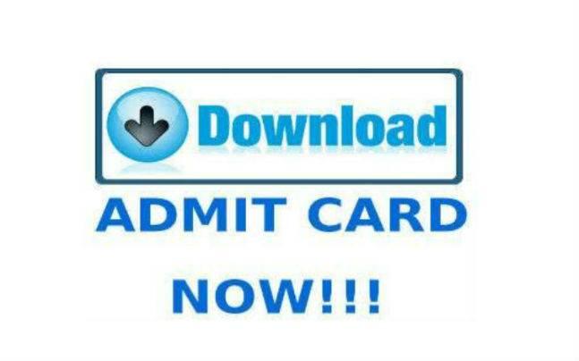 Jee Advanced 2016 Admit Card
