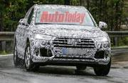 Audi Q5 spotted testing again; launch this year