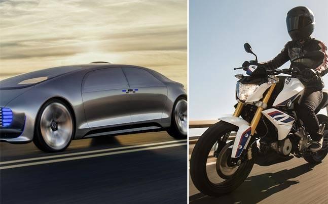Mercedes-Benz, Toyota, BMW Motorrad,