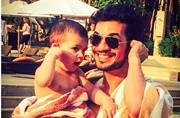 You can't miss this cute video of Arjun Bijlani's 2-year-old dancing to Gerua