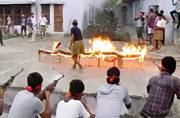Bajrang Dal holds counter-terror training camp with