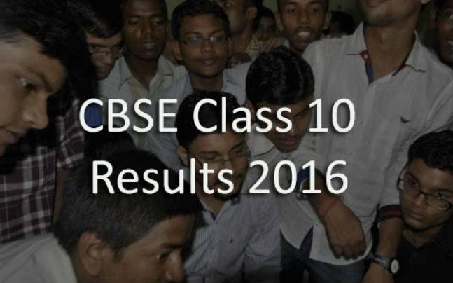 CBSE Class 10 Board Results 2016