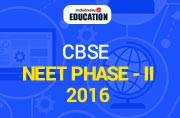 CBSE NEET Phase - II 2016: Official notification out at aipmt.nic.in