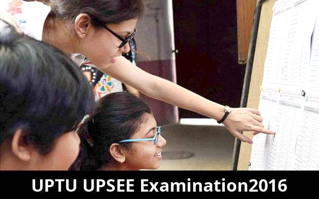 UPTU UPSEE Examination 2016: Results declared at www.upresults.nic.in