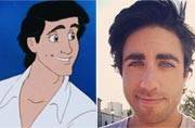 This man is the real-life version of Prince Erin from The Little Mermaid