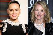 Daisy Ridley and Naomi Watts tipped to star in Ophelia