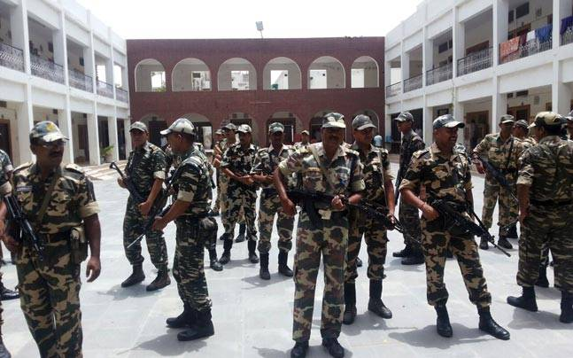 CRPF have been deployed in highly sensitive districts including Rohtak.