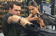 SEE PIC: Deepika Padukone trains with real guns for XXX The Return Of Xander Cage
