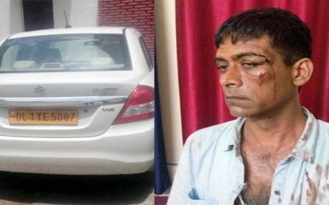 Africans hit cab driver