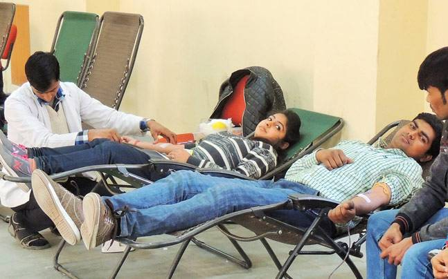 Donate blood and get grace marks for PG admissions