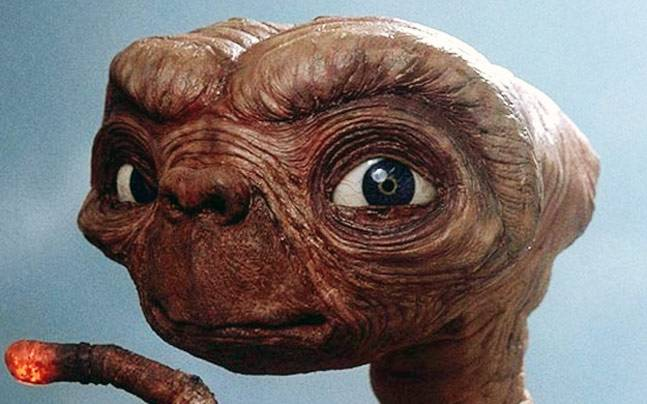 Poster from movie E.T. the Extra-Terrestrial