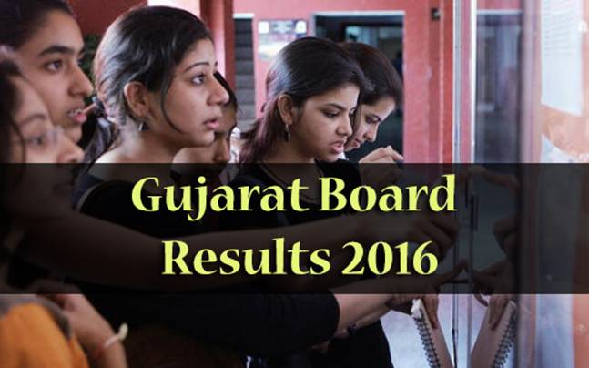 Gujarat Board Class 12 (Science) Results 2016