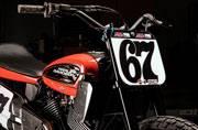 Harley-Davidson XG750R Flat Tracker breaks cover at AMA Pro Springfield Mile
