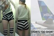 It happens in US too: Woman forced to change shorts after airline crew found it too short