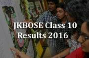 JKBOSE Class 10 Results 2016: Declared at jkbose.co.in